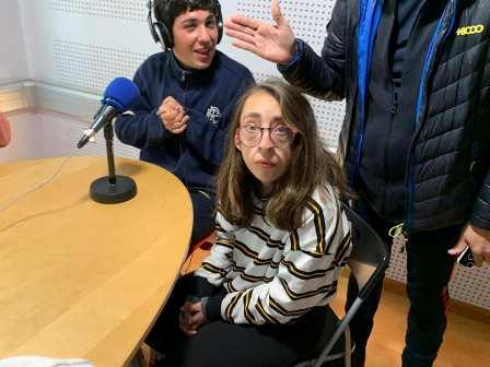 VISITA A LA RADIO DE BURJASSOT